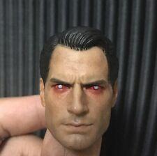 Custom 1/6 Scale Henry Cavill Superman 2 Vein Ver Head sculpt fit hot toys body