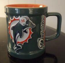 Miami Dolphins NFL Embossed Coffee Mug - Florida Football