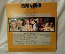 Dangerous Liaisons  W.S Laserdisc JAPAN... LIKE NEW very VERY  RARE