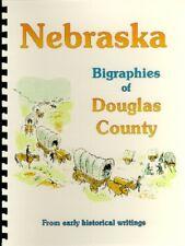 NE Douglas County Nebraska 1882 Biography RP, including Omaha; Also Businesses