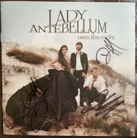 Lady A - HAND SIGNED - Own the Night (2011) UK CD ALBUM - Lady Antebellum
