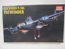 Complete Academy Minicraft Lockheed P-38L Pathefinder Plane Model Kit 1:48