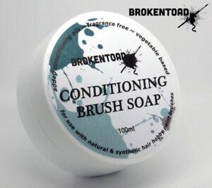 BrokenToad Conditioning Brush Soap