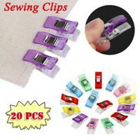 20pcs Small Wonder Clips For Fabric Quilting Craft Sewing Knitting Crochet DIY