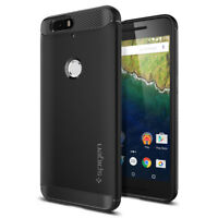 Google Nexus 6P Case Spigen® [Rugged Armor] Shockproof TPU Case Slim Thin Cover