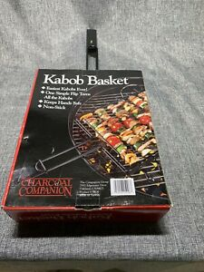 Kabob Basket, BarbecKabob Basket, Barbecue Grilling Accessories, BBQ Grill. New
