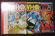1990 WHO'S WHO In The DC Universe #4 5 6 SEALED Wonder Woman LOT of 3