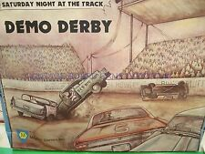SATURDAY NIGHT AT THE TRACK GAME - DEMO DERBY GAME - 100% - DEMOLITION DERBY