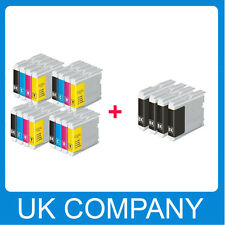 4Set + 4BK Ink Cartridge Replace for LC1000 DCP-130C DCP135C 150C 153C printer