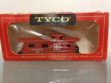 Vintage Tyco Ho Scale 8-Wheel 7240 Santa Fe Red Caboose 327J:350 In Original Box