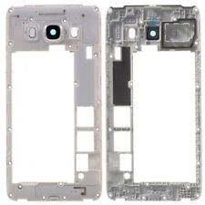 Per Samsung Galaxy J5 2016 J510 Middle Telaio Chassis Housing Camera Lens Silver