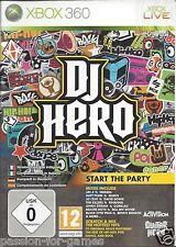 DJ HERO for Xbox 360 - with box & manual