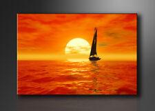 Bild - Marken Bilder Leinwand auf Rahmen Segel 120x80cm XXL 5059>