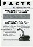 Komatsu F A C T S newsletter 1992