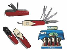 Taschenmesser VW Bulli Multi-Tool Retro Volkswagen Multifunktion Klapp-Messer