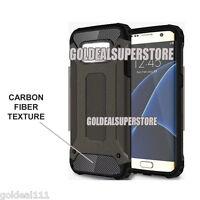 Samsung Galaxy S6 S7 Edge/S6 S7 Edge Plus/Note 5/Note 7 Armor Carbon Fiber Case