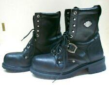 Harley-Davidson Men's Motorcycle Work Boots Steel Toe 91035 - Size 12 Wide.