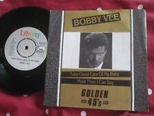 Bobby Vee Take Good Care of MY Baby Label: Liberty G45 34 UK Vinyl 7inch Single