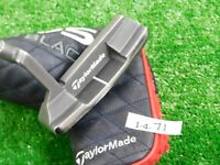 "TaylorMade Ghost Tour Black Daytona 35"" Putter with Headcover Super Stroke"