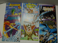 Mixed Lot Of 6 Vintage DC Comic Books From The 1990s