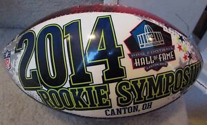 2014 NFL Rookie Symposium Football