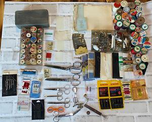 Woven Starburst Vintage Complete Full Modern Sewing Box Storage Case