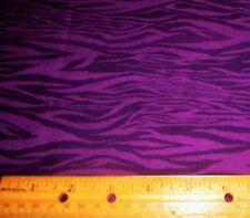 1 yard of PURPLE and BLACK SPOOKY SKY on 100% Cotton Fabric HALLOWEEN