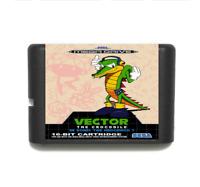 Vector in Sonic 1 16 bit MD Game Card For Sega Mega Drive For Genesis