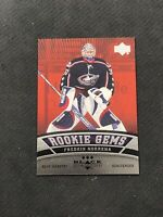 2006-07 UD BLACK DIAMOND FREDRIK NORRENA ROOKIE GEMS RUBY RED #ed 52/100