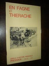 EN FAGNE ET THIERACHE - Tome 27 - 1974 - Presgaux Belgique