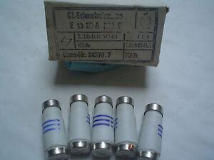DDR-Sicherung 10 St/ück Plattenbau Sicherungen DL 16A grau