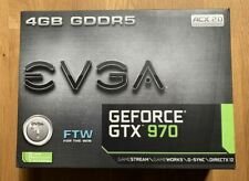 EVGA NVIDIA GeForce GTX 970 (4096 MB) Grafikkarte - Top Zustand