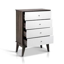 Artiss 4 Chest of Drawers Storage Cabinet - White