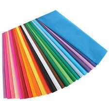 """BULK Tissue Paper 15"""" X 20""""  50 or 100 Sheet Packs Gift Flower Pom 45+ Color"""