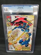 X-Factor #83 (1992) Peter David Story CGC 9.8 White Pages E434