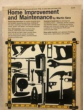 Home Improvement And maintenance By Martin Sara