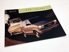 2001 GMC Safari Brochure