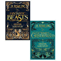 Fantastic beasts Collection By J.K Rowling 2 Books Set Where to Find Them NEW