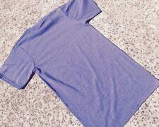6 X  Mens Plain 100% Cotton Blank Blue T-shirt Tee Oeko-Tex Bulk Cheap Wholesale