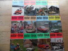 12x Tschechoslowakische MOTOR REVUE Jahrgang 1982 Skoda Jawa CZ TATRA PRAGA