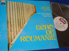 LP ECHO de ROUMANIE Simion Stanciu TUDOR PANA Panflöte FLUTE PAN Flöte panpipes