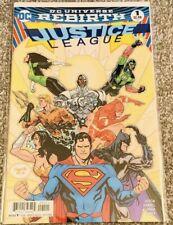 Justice League #1 Rare Paquette Variant DC Universe Rebirth Comic Near Mint
