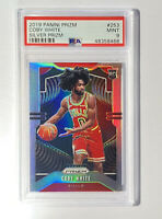 2019-20 Panini Silver Prizm #253 Coby White Bulls RC Rookie PSA 9 MINT