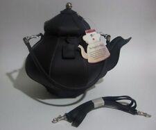 NEW *RETIRED* Pylones Inspired Teapot Purse ● Black