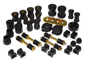 Prothane 74-78 Datsun 260Z & 280Z Total Suspension Bushing Inserts Kit (BLACK)