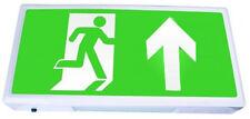 Hispec IP20 5w LED Emergency Exit Scatola Luce Freccia Fino Anti/Mantenuto NM3