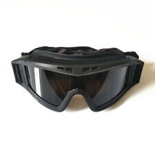Outdoor CS Airsoft Tactical SWAT Goggles Metal Mesh Glasses Lens Eye Protection