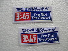 Aufkleber Set * Sticker Yoshimura Tuning  Motorsport * Biker * Motorrad * Racing