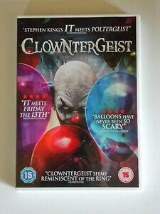 Clowntergeist (Horror...2016 Region 2 DVD)