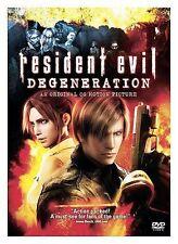 RESIDENT EVIL DEGENERATION New Sealed DVD